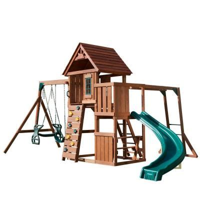 replacement swings for playsets swing n slide playsets cedar brook wood complete playset