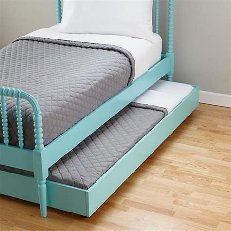 Jenny Lind Azure Trundle Bed Guest Rooms Sleepover And Trundle Bed