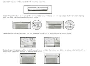 Vertical Blinds Installation Instructions How To Install Blackout Roller Blinds