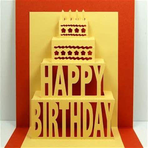 template happy diy cards diy happy birthday pop up card cards