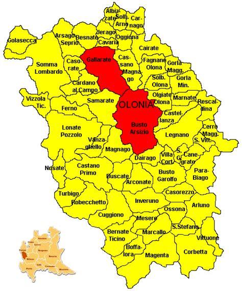 ao provincia di pavia cartina politica provincia novara my