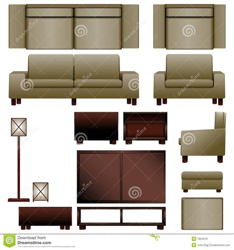 modern livingroom chairs modern living room furniture stock vector image 7904318