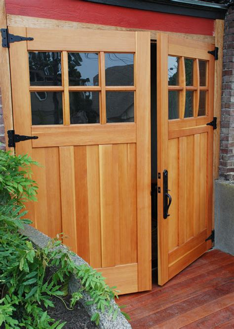 swing out doors find garage doors that fit your home s style old house