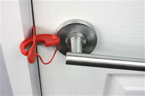 Temporary Door Lock From Outside by Howsar Portable Door Lock Byo Lock