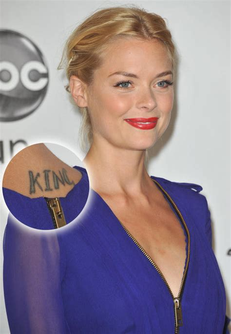 jaime king tattoo gallery the the bad and the