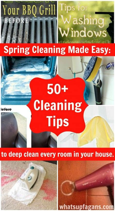 spring cleaning tips and tricks 50 cleaning tips and tricks to deep clean every room in