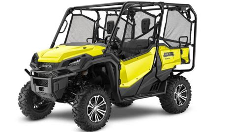 2018 honda pioneer 1000 and 700 lineup unveiled atv