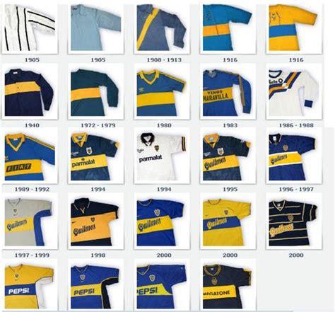 imagenes historicas de boca camisetas para la historia boca juniors 191 qu 233 fue de