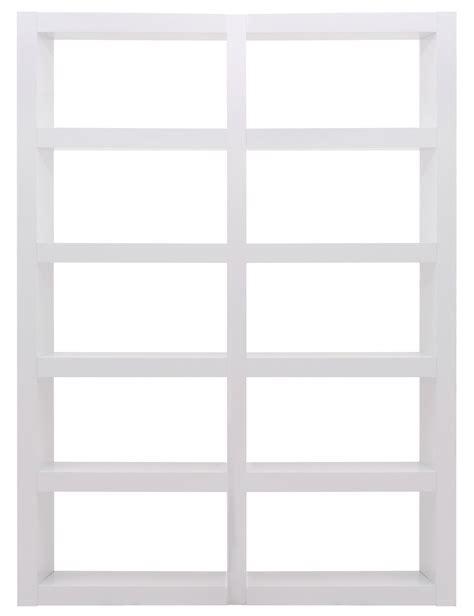 denso high gloss white 10 shelf bookcase unit 9500 515682