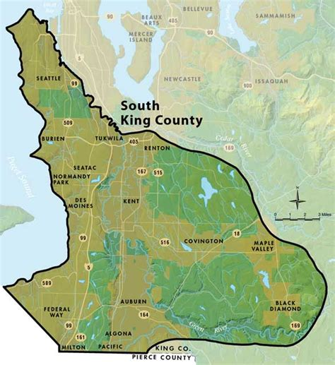 seattle map king county south king county groundwater management area map