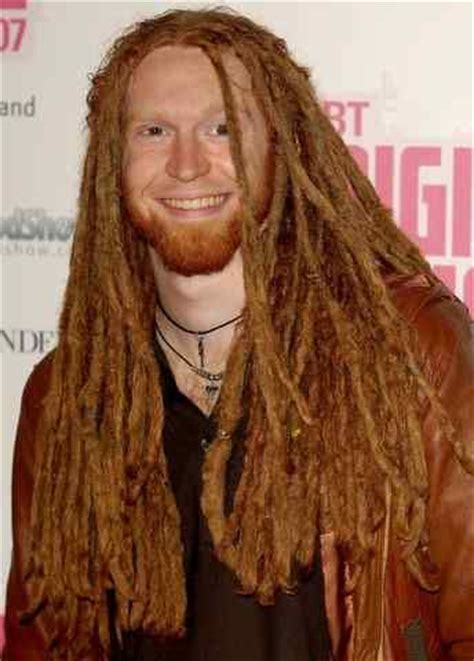 ginger with dreads newton faulkner this guy is a ginger and he has dread