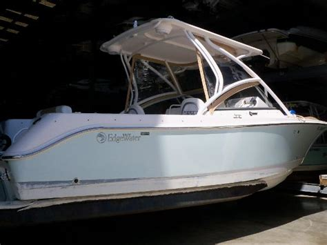 edgewater boats dual console used edgewater dual console boats for sale boats