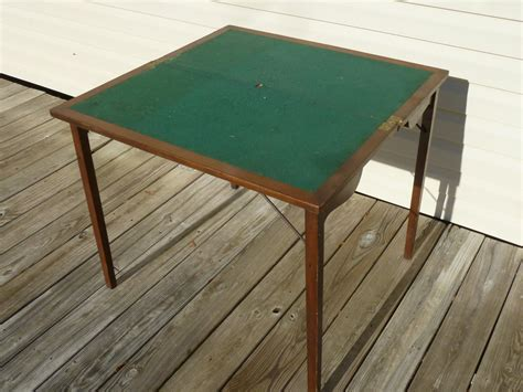 Folding Table With Drawers by Unique Vintage Folding Card Table With Drawer