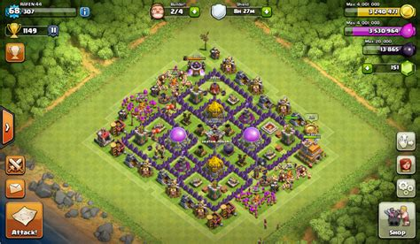 fungsi layout editor di coc image rafen 44 s town hall level 7 png clash of clans