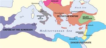 The Byzantine Empire Russia And Eastern Europe Outline Map by Spread Of Islam Turks And Byzantines Istanbul Tour Guide