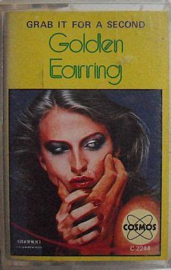 golden earring grab it for a second cassette inlay front