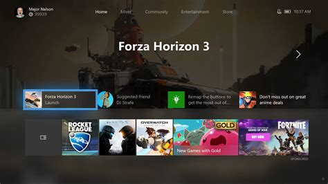 home design xbox the next xbox one dashboard update lets players customise