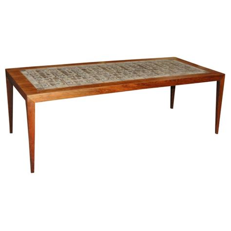 royal copenhagen tile coffee table at 1stdibs