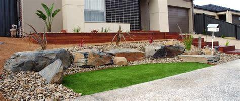 front garden   Landscaping   Affordable Scapes   Australia