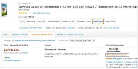 Preis Samsung Galaxy S5 Ohne Vertrag 65 by Samsung Galaxy S4 Ohne Vertrag B Ware F 252 R 179 99