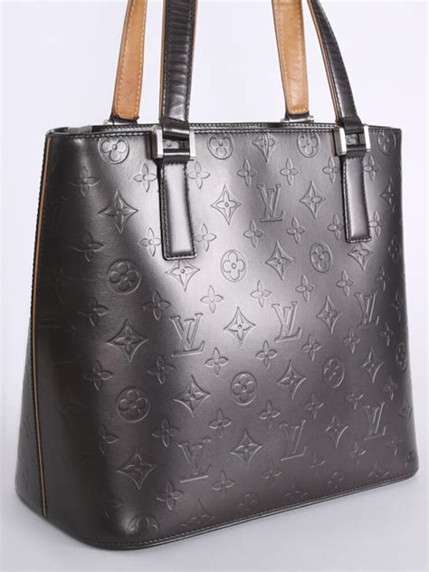 louis vuitton houston monogram mat grey luxury bags