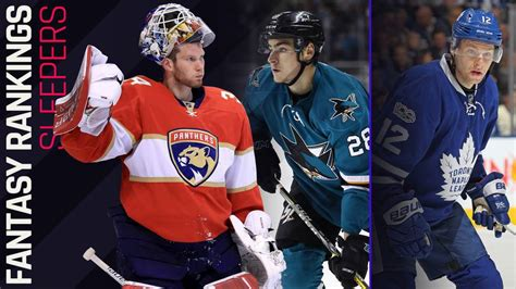 Nhl Sleepers by 2017 Hockey Sleepers For Every Position Sporting News