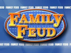 Family Feud Powerpoint Template Donationware Parties Pinterest Family Feud Youth And How To Do Family Feud On Powerpoint