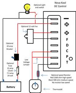 dc refrigeration air conditioning kool support kool dc standard wiring diagram