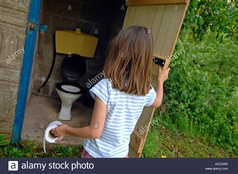 how to a for toilet outside toilet outside toilet using an outdoor toilet stock photo royalty free image
