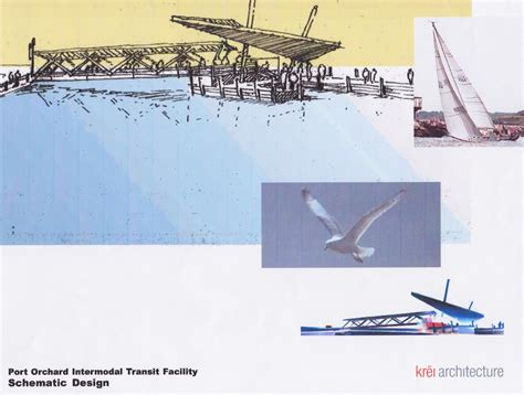 design concept for ferry terminal creating a passenger ferry terminal for port orchard