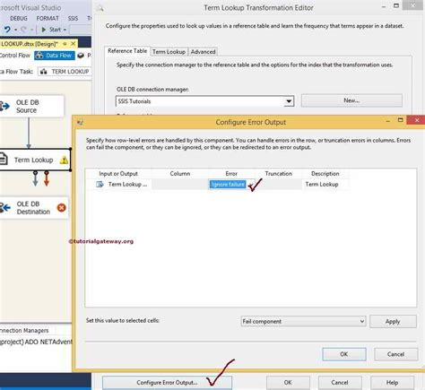 tableau lookup tutorial ssis term lookup transformation 8