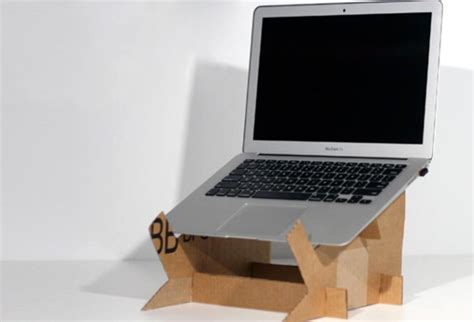 cara membuat rak laptop dari kardus kerajinan tangan dari barang bekas yang mudah dibuat