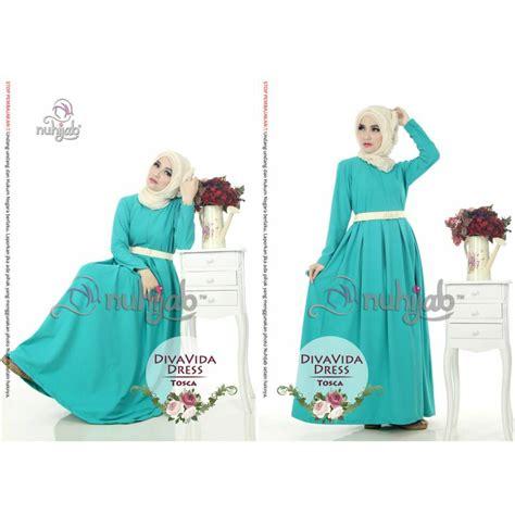 Nuhijab Vida Dress jual divavida dress dvd nuhijab raffasya shop