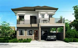 sheryl four bedroom two story house design pinoy 4 story house plans with modern contemporary home design