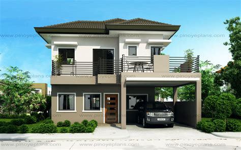 4 story houses sheryl four bedroom two story house design pinoy