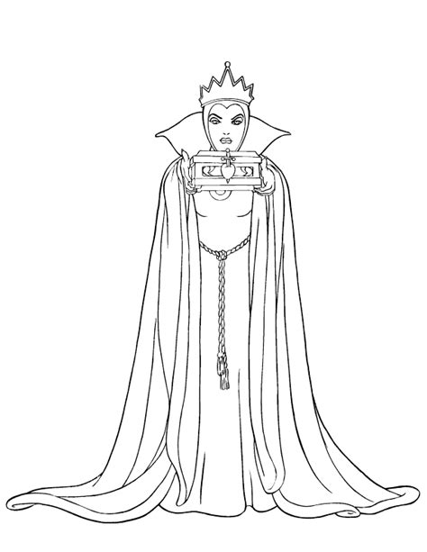 evil queen coloring page evil queen coloring sheets coloring pages