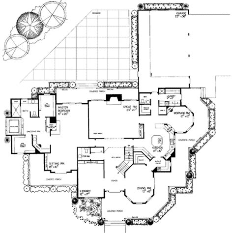 victorian style house floor plans victorian style house plan 5 beds 6 baths 4826 sq ft