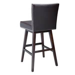 Leather Bar Stools With Backs Vintage Leather Swivel Bar Stool Brown Buy Leather Bar