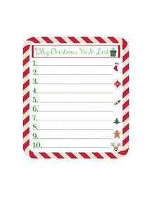 christmas wish list template 8 free templates in pdf