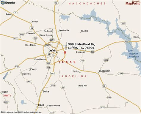 lufkin texas map city of lufkin