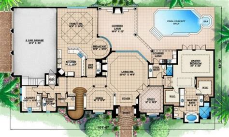 Exotic House Plans | tropical house designs and floor plans modern tropical