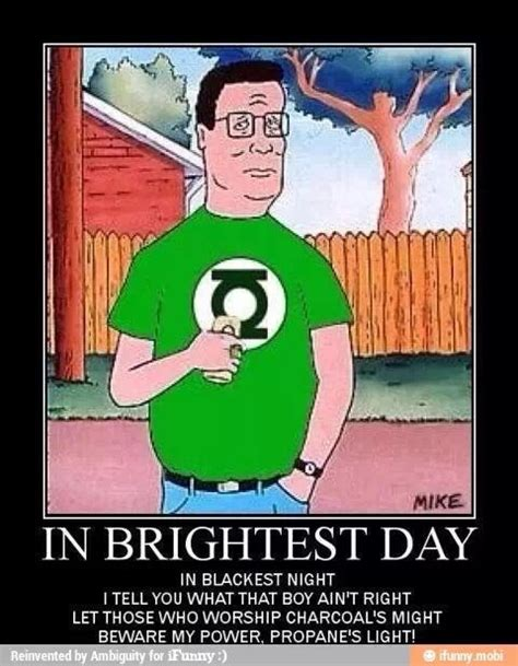 hank hill meme king of the hill propane s light awesome