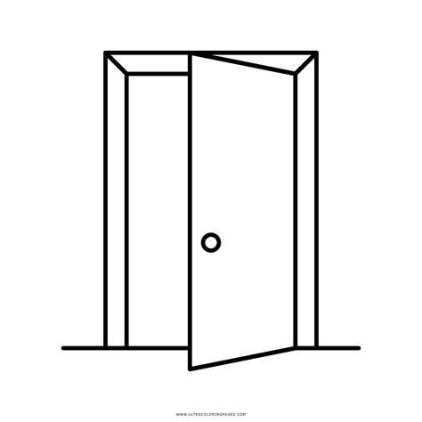 Open Door Coloring Page   Ultra Coloring Pages