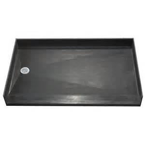 tile ready shower pan 42 x 66 center pvc drain rakuten