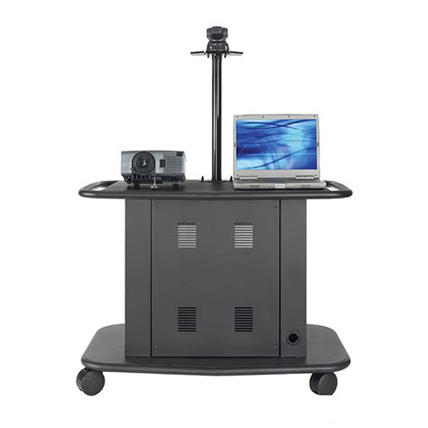Projector Rack avteq learning series rack mount overhead projector cart