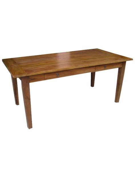 colonial style table ls table repas style colonial en acajou massif bizy meuble de