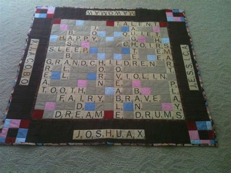 tye scrabble 29 best images about s quilts on baby doll