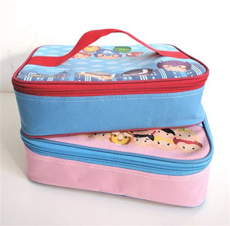 Yooyee Lunch Box by Set Tempat Makan Lunch Box Yooyee Dan Lunch Bag Printing