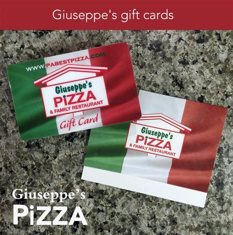 Best Family Gift Cards - giuseppe s gift card the perfect size giuseppe s pizza family restaurant