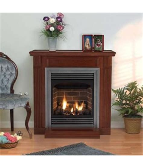 empire gas fireplaces empire 24 quot vail vent free gas fireplace w logs